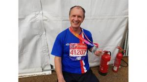 Rotarian Ray Johnson to run his 21st consecutive marathon