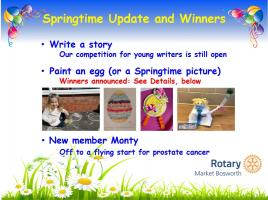 Spring Update And Winners