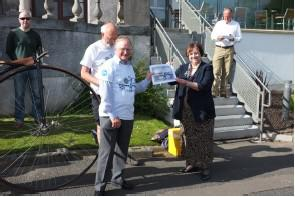 Carnegie Newsletter 4th June 2013: Charter & Pedal 4 Peace