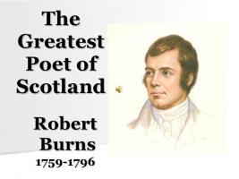Burns Night January 27th 2018