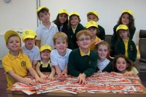 Trinity Primary School kids support Polio eradication