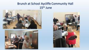 Fundraising Brunch at School Aycliffe Community Hall