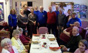 Christmas Day at the Day Centre