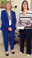 New Member Inducted into Hythe Rotary