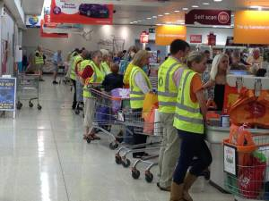 Sainsbury's Bag Packing