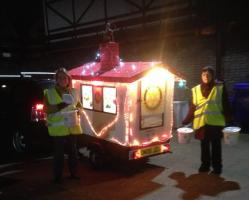 CHANGE OF ROUTE FOR SANTA'S HOUSE on