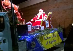 Whiteley Santa Fun Walk