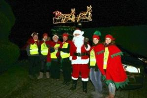 Santa Float around Basingstoke