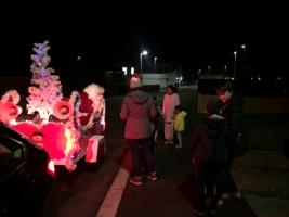 Santa collecting in Middlesbrough for local charities