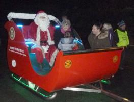Santa's Routes for visits December 2019