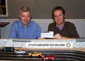 Rotary fun night boosts Ty Gobaith Funds
