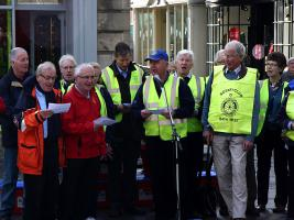 Rotarians Singing Flash Mob in Bath ..see the video!