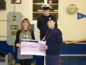 Supporting Trowbridge Sea Cadets