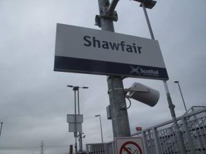 Shawfair Station
