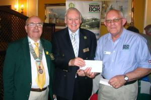 Tenby Rotary Supports Shelter Box Project