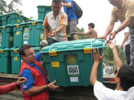Rotary - responding to disasters.