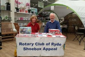 Ryde Rotary annual Xmas Shoebox appeal