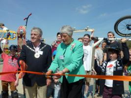 Skate Park Officially Opens