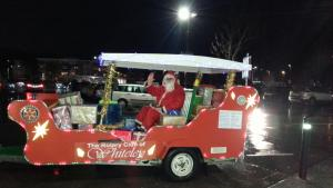 Santa in Whiteley 2015