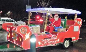 Santa will be touring the Whiteley again this year