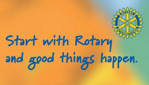 Join Rotary and make the world of difference!