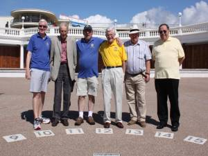 Rotarians of Bexhill unite to celebrate their new Sundial