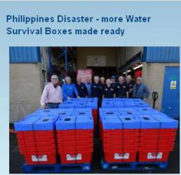 Collecting for Philippines Disaster - Update