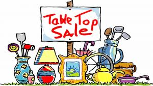 Table Top Sale. Sat. 18th November