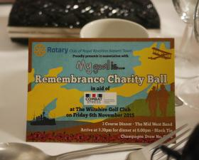 Remembrance Ball - photos by Ceri