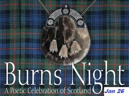 Jan 2015 Burns Night Celebrations - open to guests & partners
