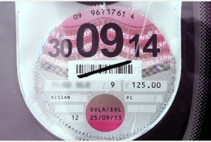 What to do with your old Road Tax disc holder