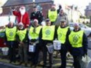 SANTA and ROTARY TESCO TEAM 2008