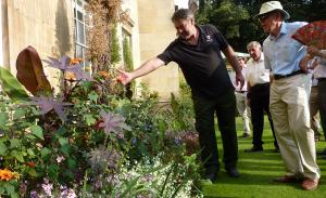 Jul 2018 Visit & Tour of Kings' College Gardens & HANDOVER