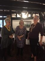 Latest new member, Lesley, joins RC of Chestfield