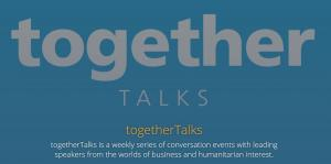 Together Talks - Every week.