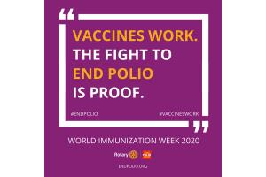 Vaccines Work - World Immunisation Week 2020