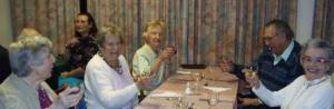 Trowbridge Visually Impaired Club supper