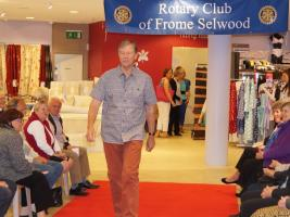Rotary Charity Spring Fashion Show at M&Co Frome