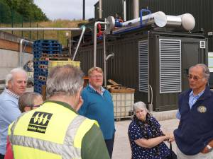Visit to the Warminster Biodigester