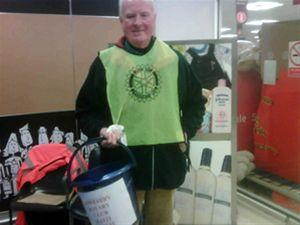 Urgent Aid for Haiti - Collection at Sainsbury's 16th January 2010