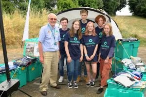 Frome College Interact raise money for ShelterBox