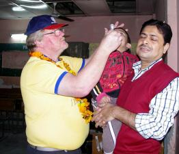 October 24th is World Polio Day - Guy & Gill join Rotary's Polio Immunisation team in India