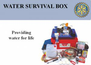 Water Survival Boxes
