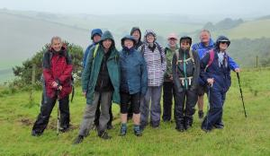 A walk in the Rain around Cerne Abbas and Sydling St Nicholas