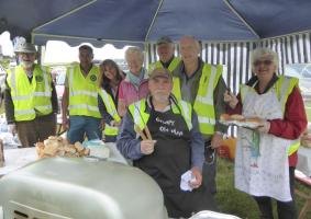 Fundraising barbecues