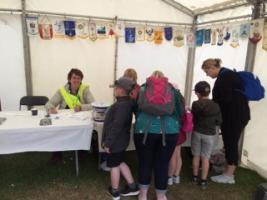 Child Safety - wristband project at the Royal Highland Show