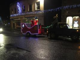 Christmas Float Week 2, Beechwood Drive, Bincombe Drive, Old Mill Lane, North Street, West Street, Lyewater