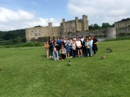 Shepway Young Carers rewarded with a trip to Leeds Castle