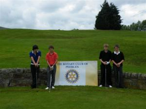 Peebles Young Golfer Competition