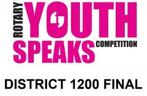 YOUTH SPEAKS DISTRICT FINAL